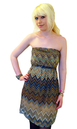 TULLE RETRO MOD RETRO SEVENTIES DRESS 70s MOD TUBE