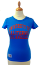 'Vargas' - Womens Retro 50s T-Shirt by UCLA (B)