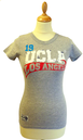 'Herrere' - Womens Retro 50s T-Shirt by UCLA (G)