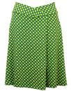 VILA JOY 'DASH' RETRO 60S MOD  A LINE SKIRT