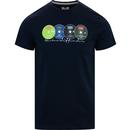 Weekend offender definitely maybe graphic tee navy