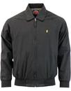 wigan casino northern soul bomber jacket black