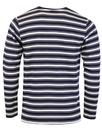 AFIELD 60s Mod French Terry Cotton Stripe L/S Tee