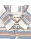 AFIELD Men's Retro 70s Woven Over The Head Shirt