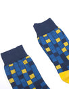 AFIELD Retro Mod Abstract Square Pool Tile Socks
