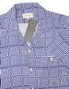 Selleck AFIELD Retro Spiral Square Hawaiian Shirt