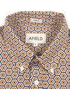 Sunbrella AFIELD Retro 70s Mod Honeycomb Shirt
