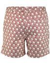 AFIELD Men's Retro 70s Geo Sun Print Swim Shorts