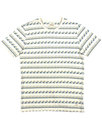 AFIELD Waves Retro 70s Geo Print Crew Neck T-shirt