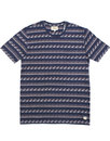 AFIELD Waves Retro 70s Geo Print Crew Neck Tee (N)
