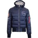 Alpha industries apollo 11 puffer jacket rep blue