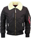 alpha industries injector III mod bomber jacket