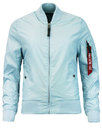 alpha industries ma1 tt womens bomber jacket air