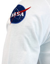 ALPHA INDUSTRIES Retro NASA Patch Long Sleeve Tee