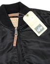 MA1 VF ALPHA INDUSTRIES Mod Bomber Jacket BLACK