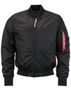 alpha industries vf59 bomber black mod