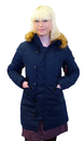 ALPHA INDUSTRIES WOMENS EXPLORER MOD PARKA NAVY