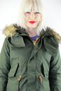 Vintage Fishtail ALPHA INDUSTRIES Womens M65 Parka