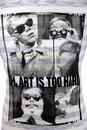 Brooklyn ANDY WARHOL by PEPE Retro Stripe T-Shirt
