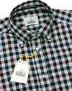 Dexter  B D BAGGIES 60s Herringbone Gingham Shirt
