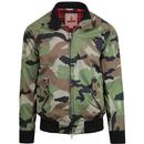 Baracuta G9 Authentic Fit Men's Retro Mod Camo Harrington Jacket
