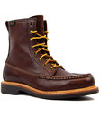 bass quail hunter retro 60s moccasin hunting boots