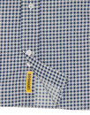 Dexter B D BAGGIES Retro 60s Mod Geo Mosaic Shirt