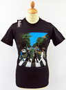 BEATLES ABBEY ROAD MENS T-SHIRT RETRO 60s T-SHIRT