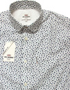BEN SHERMAN 60s Penny Collar Micro Floral Shirt