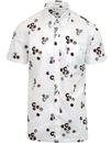 ben sherman Aquarius northern soul badge shirt