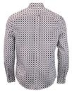 BEN SHERMAN Retro 60s Mod Spot Chambray Shirt (W)