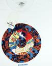 Hero BEN SHERMAN Retro 60s Floral Mod Target Tee W