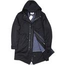 BEN SHERMAN Hooded Mod Fishtail Parka Jacket (DN)