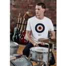 BEN SHERMAN x KEITH MOON Ltd Ed Mod Target Tee