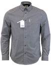 Ben Sherman gingham shirt black