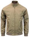 BEN SHERMAN 60s Mod Retro Harrington Jacket SAND