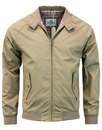 BEN SHERMAN 60s Mod Retro Harrington Jacket SAND
