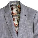 BEN SHERMAN Tailoring Prince of Wales Check Suit