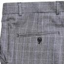 BEN SHERMAN Tailoring Mod POW Check Suit Trousers