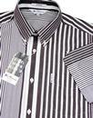 Riley BEN SHERMAN Pinstripe 70's Archive Shirt C