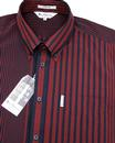 Riley BEN SHERMAN Pinstripe 70's Archive Shirt R