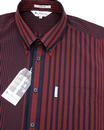 Riley BEN SHERMAN Pinstripe 70's Archive Shirt R