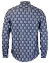 BEN SHERMAN 60s Mod Textured Geo Button Down Shirt