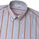 Brighton BEN SHERMAN Mod 70s Archive Stripe Shirt