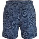 Abaka BEN SHERMAN Retro 70s Floral Swim Shorts