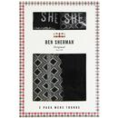 Blears BEN SHERMAN Men's 2 Pack Geo Print Trunks