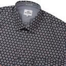 BEN SHERMAN Retro Mod Wallpaper Print Shirt (DB)