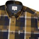 BEN SHERMAN Retro Mod Block Checkerboard Shirt (Y)