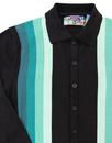 Blake MADCAP ENGLAND Mod Gradient Stripe Polo B/T