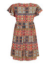 Sally BRIGHT & BEAUTIFUL Moroccan Tile Smock Dress